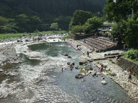 矢部川源流公園(ふれあい河川プール)の画像