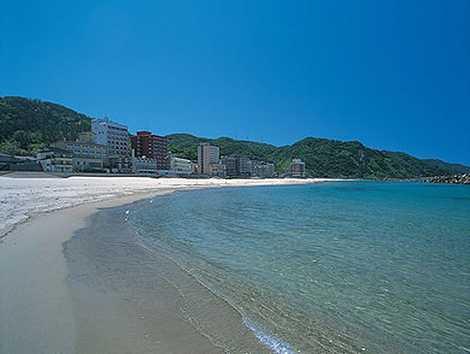 湯野浜海岸の画像