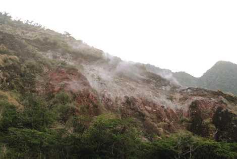 池之沢噴気孔群の画像