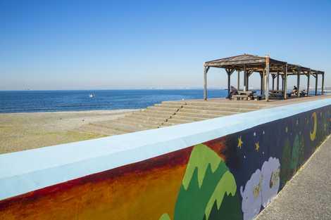 検見川の浜の画像