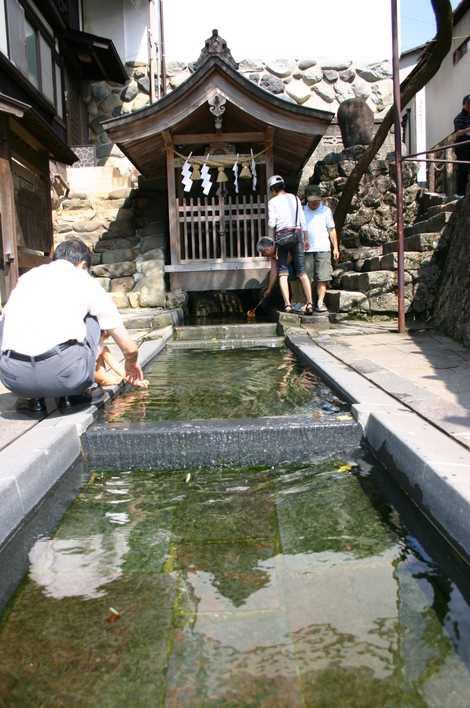 宗祇水の画像