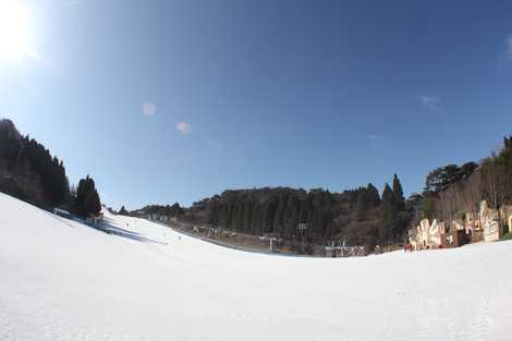 六甲山スノーパークの画像