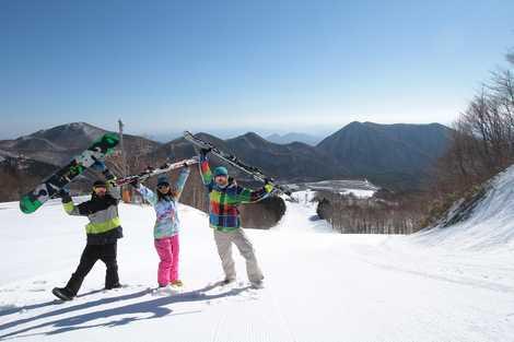 スキー 高原 バレー 場 泉 スプリング