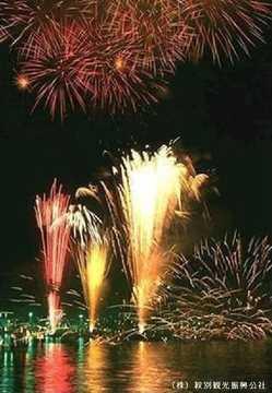 もんべつ観光港まつり オホーツク花火の祭典の画像