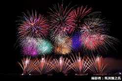 五所川原花火大会 水と光と音の祭典の画像