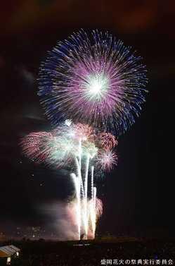 盛岡花火の祭典の画像