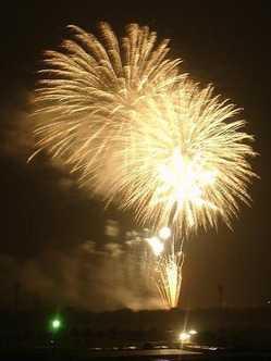 奥州水沢の花火大会の画像