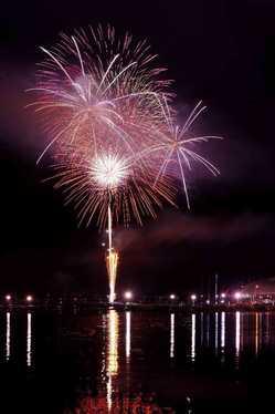 石巻川開き祭り花火大会の画像