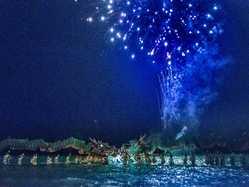 たざわ湖大花火の画像