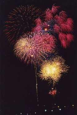 雄島花火大会の画像