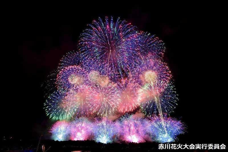 第29回赤川花火大会「百華繚乱~夜空に重なる一人一人の物語~」