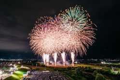 山形大花火大会の画像
