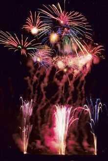 日橋川 川の祭典 花火大会の画像