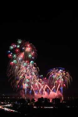水戸黄門まつり花火大会の画像