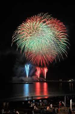 阿字ヶ浦海岸花火大会の画像