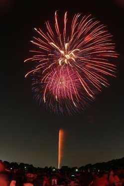 草加市民納涼大花火大会の画像