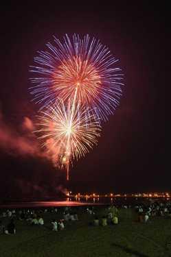 鴨川市納涼花火の画像