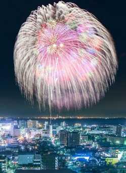 木更津港まつり花火大会の画像