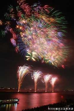 市川市民納涼花火大会の画像