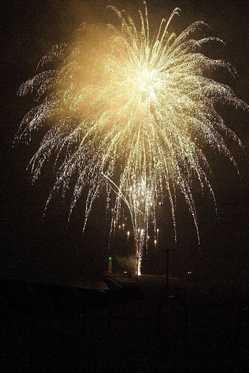 伊豆大島夏まつり花火大会の画像