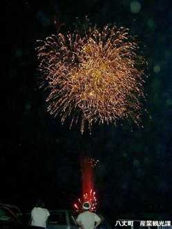 八丈島納涼花火大会の画像