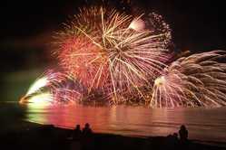 寺泊港まつり海上大花火大会の画像