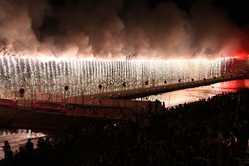 越後加茂川夏祭り大花火大会の画像