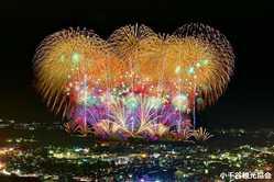 おぢやまつり大花火大会の画像