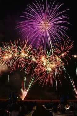 おおの城まつり 大花火大会の画像