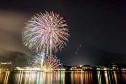河口湖湖上祭の画像