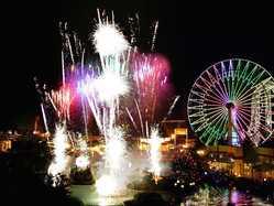富士急ハイランド花火大会の画像