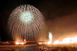 南部の火祭りの画像