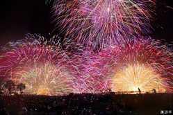 諏訪湖祭湖上花火大会の画像