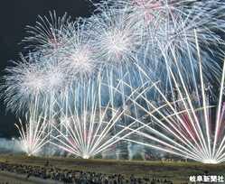 大垣花火大会の画像