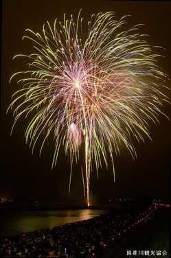 いびがわの祭り「ありがとう花火」の画像