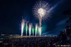 関市民花火大会の画像