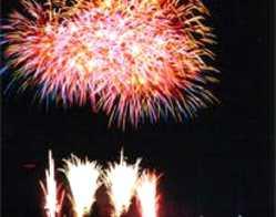 関市武芸川ふるさと夏まつり花火大会の画像