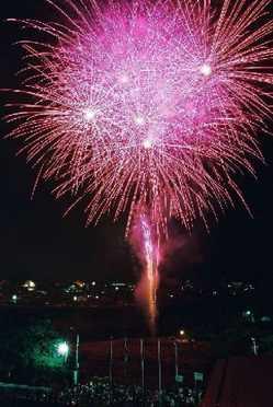 飛騨金山花火大会の画像