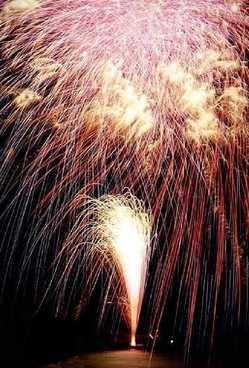 熱川温泉海上花火大会の画像
