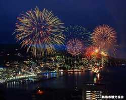 熱海海上花火大会の画像