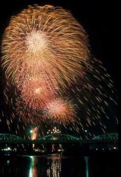 安倍川花火大会の画像