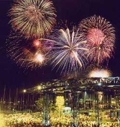 清水みなと祭り 海上花火大会の画像
