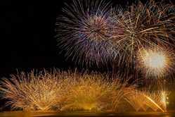 弓ヶ浜花火大会の画像