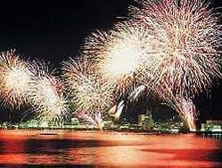 網代温泉海上花火大会の画像