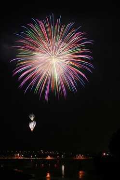 鹿島の花火の画像