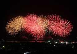 焼津海上花火大会の画像