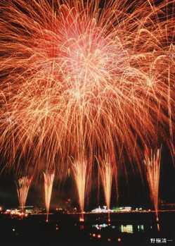 伊豆の国花火大会 きにゃんね大仁夏祭りの画像