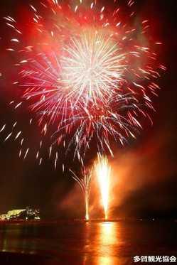 多賀海上花火大会の画像