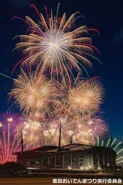 豊田おいでんまつり花火大会の画像