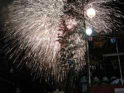 盆踊りと河和学区花火大会の画像